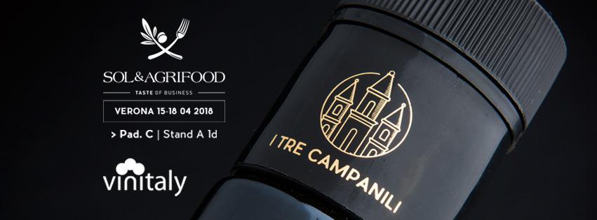 I Tre Campanili a Verona per il Sol&Agrifood
